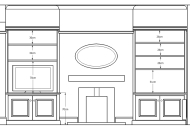 Alcove pair CAD drawings